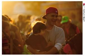 Sunset, Revelers, Marin County Fair 2013